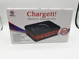 CHARGIT BATTERY STATION PRO MODEL 08767 FOR AA,AAA,C,D AND 9 VOLT New Charge it