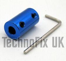 6mm rigido in metallo Albero Accoppiatore per condensatore variabile ATU, VFO lineare, ecc.