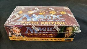 Magic MTG 5th Edition Booster Box Factory Sealed English