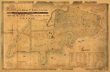 A4 Reprint of World Countries Map Haciendas Puerto Rico