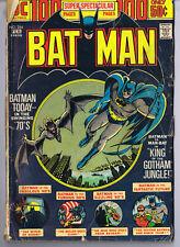 Batman #254 ORIGINAL Vintage 1974 DC Comics Man Bat 100 Pages (no back cover)