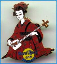 Hard Rock Cafe YOKOHAMA 2001 Japan Calendar Series PIN #1 JANUARY Geisha #10539
