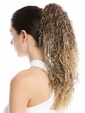 Hairpiece Plait Voluminous Curly Crepe Curl Creped Kinks Braun Gold-blonde 45cm