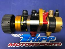 Gambler 4 Stage Dry Sump Oil Pump Chevy Mount NASCAR, Late Model