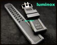 Luminox 23mm EVO .FP.L. Watch Rubber Band Strap: Colormark NAVY SEAL.SPRING-BARS