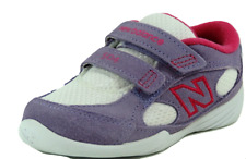 New Balance Toddler Shoes KV504PWI Running Adjustable Leather Purple Dead Stock