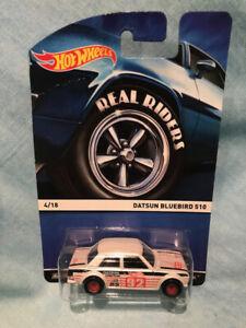 Hot Wheels - Datsun Bluebird 510 - Heritage Series Real Riders - Creased Card