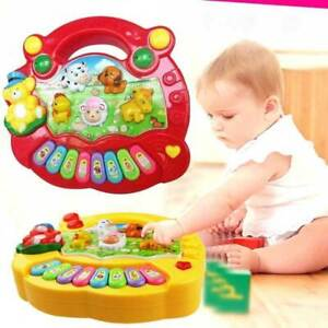 Baby Musical Educational Animal Farm Piano Developmental Music Toy Gift Eager