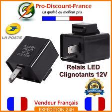 Relais Centrale Clignotant LED Moto Scooter Quad 12V Anti Erreur 2 Broches LEDS