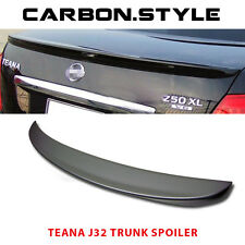 Painted Color For Teana J32 OE Type Trunk Boot Spoiler Rear Wing  09 12