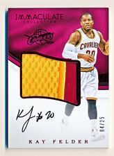 2016-17 Immaculate Kay Felder RPA Premium Patches Red Patch Auto Rc (04/25)