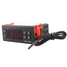 220V AC Dual Digital PID Temperature Temp Controller Thermostat STC-1000 New