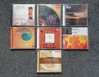 Classical Music CD Bundle Joblot x 7 - Elgar/Mozart/Vaughan Williams & More