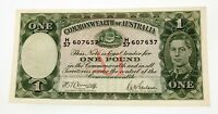 1942 Australia $1 One Dollar Pick #26b Extra Fine Condition