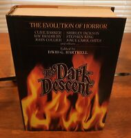 The Dark Descent Evolution Of Horror By D.G. Hartwell STATED 1ST PRINT 1987 MINT