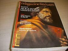 MAGAZINE LITTERAIRE 439 02.2005 DOSSIER SAINT AUGUSTIN Agota KRISTOF