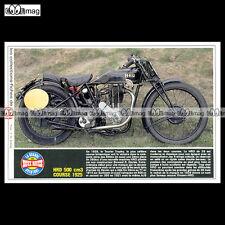 #TP Fiche Moto HRD 500 cc COURSE 1925 (Racing Bike, Moteur JAP)