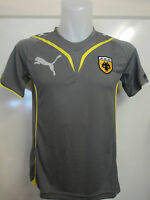 AEK ATHENS GREY PERFORMANCE TEE BY PUMA SIZE ADULTS XL BRAND NEW WITH TAGS