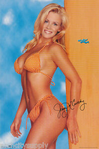 POSTER : JENNY McCARTHY - SURFIN' SAFARI -  FREE SHIPPING !     #3080    LP39 W