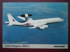 POSTCARD AIR UNITED KINGDOM - AWACS