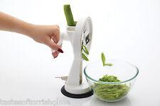 Kitchen Craft Giratorio MANUAL mesa Top Runner Verde CORTADOR DE Vainas &