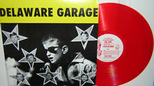 Delaware Garage LP-60's RED VINYL-Distortions-RED WAX! GARAGE! Various Artists