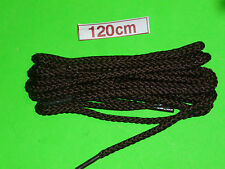 SHOELACES 120CM HIKER DARK BROWN LACES **IN AUSTRALIA ** SHOE LACES