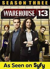 Warehouse 13: Season 3 (DVD, 2012, 3-Disc Set)