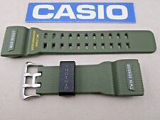 Genuine Casio G-Shock Mudmaster GG-1000-1A3 green resin watch band strap