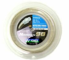 Yonex Badminton String Reel NBG98-2 Gold 0.66mm 200M