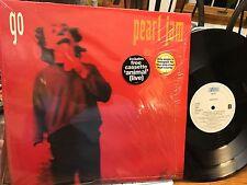 "PEARL JAM - GO 12"" 3 track 1993 UK elderly woman ALONE MINT shrink hype sticker"