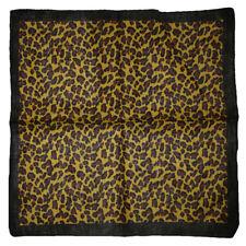 "22""x22"" Cheetah Leopard Animal Print 100% Cotton Bandanna"