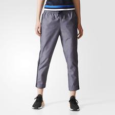 Adidas Originals Medium BK2251 Cropped Track Pants Legend Gray NWT NEW