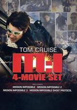 Mission: Impossible Quadrilogy (DVD, 2012)