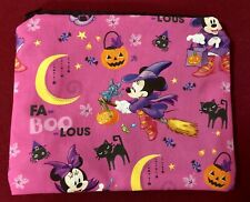 Pencil Case/Cosmetic Bags - Handmade - Minnie Mouse Trick or Treat