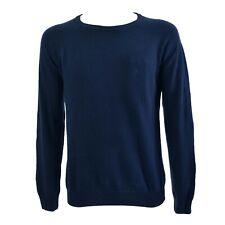 Maglioncino Conte of Florence girocollo Servi maglia maglione lana Blu
