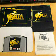 Nintendo 64 Game Boxed N64 Complete - The Legend of Zelda Ocarina of Time