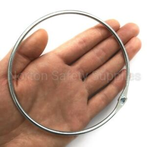 Extra Large 125mm Key Ring, Split Ring, Jailers Key Ring - Strong/Holds 50+ Keys