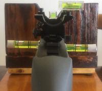 100% GUARANTEED!  PRECISION (99.5%) SET OF 5 MAGNETIC BUBBLE LEVELS RIFLE SCOPE
