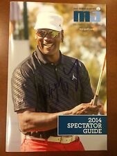 Wayne Gretzky Autographed Michael Jordan Celebrity Invitational Golf Guide