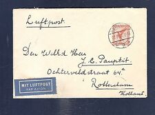 36 Germany 1929 Air Mail Cover Berlin Rotterdam Holland