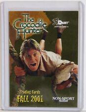 Crocodile Hunter 1 Non Sport Update Promo Insert Card No# Dart Flipcard 2001 NM+