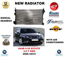 Para Saab 9-3X Estate 2.0 T XWD 2009-2012 Nuevo Radiador de Refrigeración ** OE