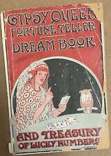 Gipsy Queen Fortune Teller Dream Book antique 1887 Madame Juno gypsy Exelsior SC
