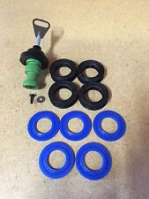 Fleck 5600 Backwash Rebuild Kit with Upgraded Blue Silicone Seal Kit