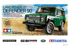 1/10 Tamiya Land Rover Defender 90 - inc LED set Radio Controlled Kit with Acces
