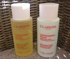 CLARINS Toning Lotion and Cleansing Milk Set, 100ml+100ml, Brand NEW!