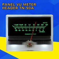 1x Panel VU Meter Header TN-90A DB Audio Power Amplifier Chassis w/ Backlight S9