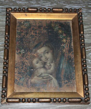 """17th Century oil on canvas handpainted """"Madonna with child"""" VERY RARE ORIGINAL!"""