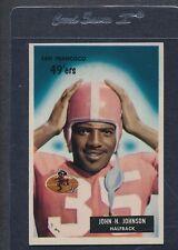 1955 Bowman #042 John H. Johnson 49ers EX *286